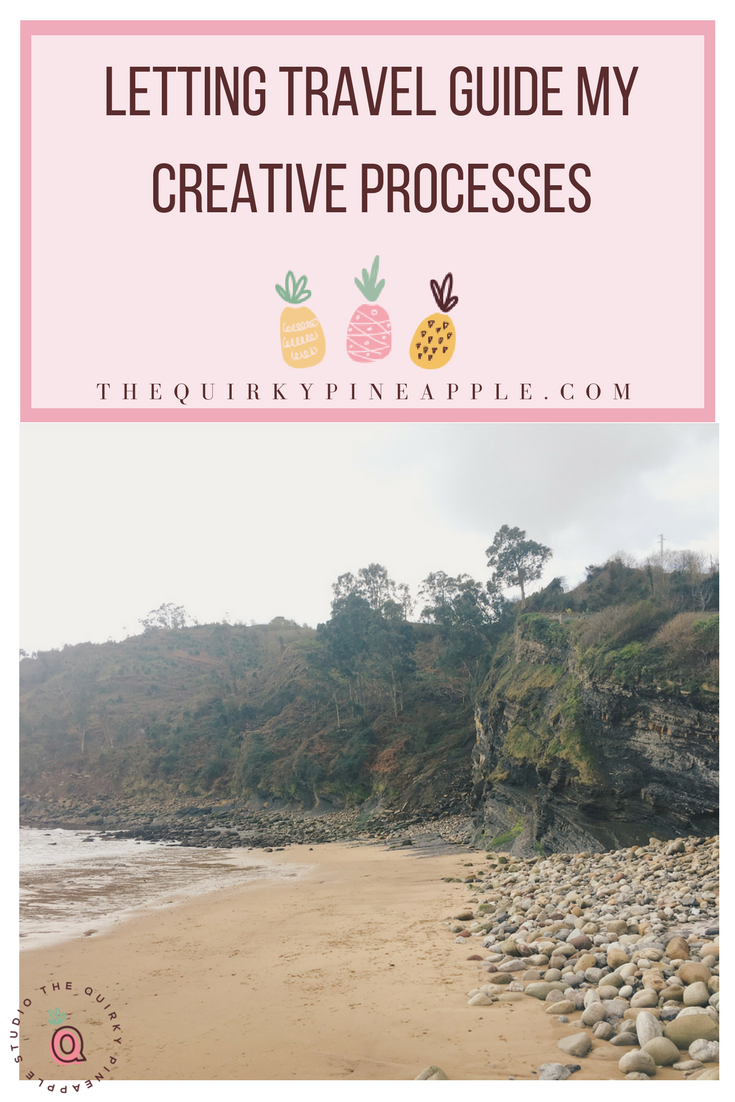 My creative processes revolve around a lot of different factors, but travel is the biggest one. Travel guides my creative processes from conception, creation, and execution - all so that my audience can learn, grow, and be inspired by it. What guides your creative processes and how does it tie into what your brand is? -- The Quirky Pineapple Studio