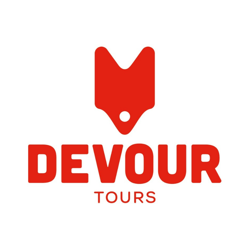Devour Tours -- The Quirky Pineapple Studio portfolio page