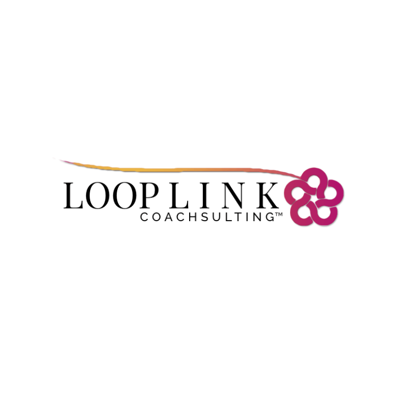 Loop Link Coachsulting logo -- The Quirky Pineapple Studio