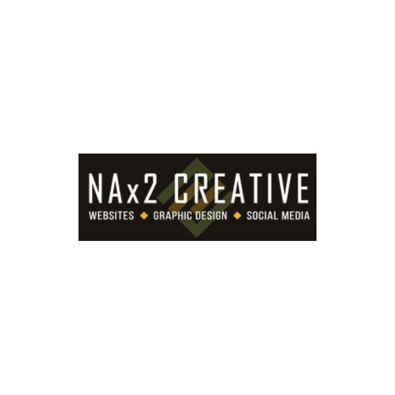 NAx2 Creative logo -- The Quirky Pineapple Studio portfolio page