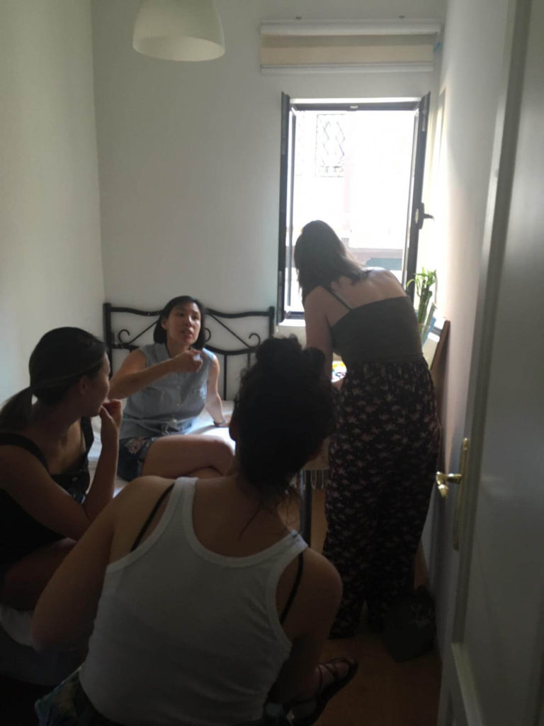 prop styling with Danica from La Feliz Casa for Hands-On Creative Workshop