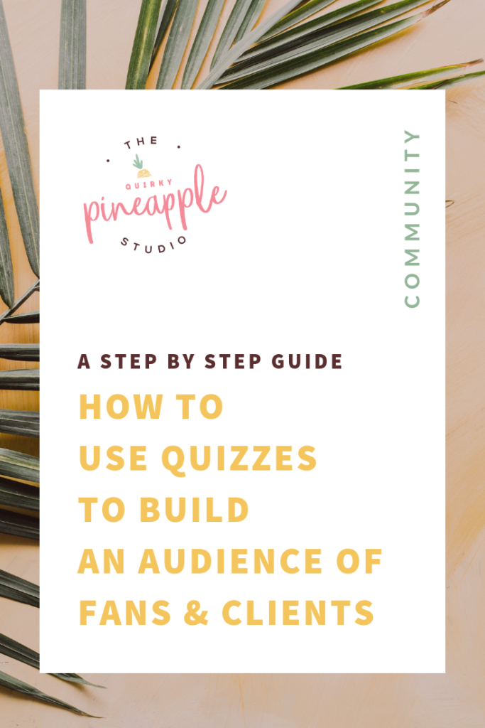 Learn how to build an audience and find your ideal clients with quizzes. We cover business tips for brands, branding tips for small businesses, and content marketing tips so you can build and grow your business online. It's all about using content strategy and copywriting to attract the right audience for your brand.