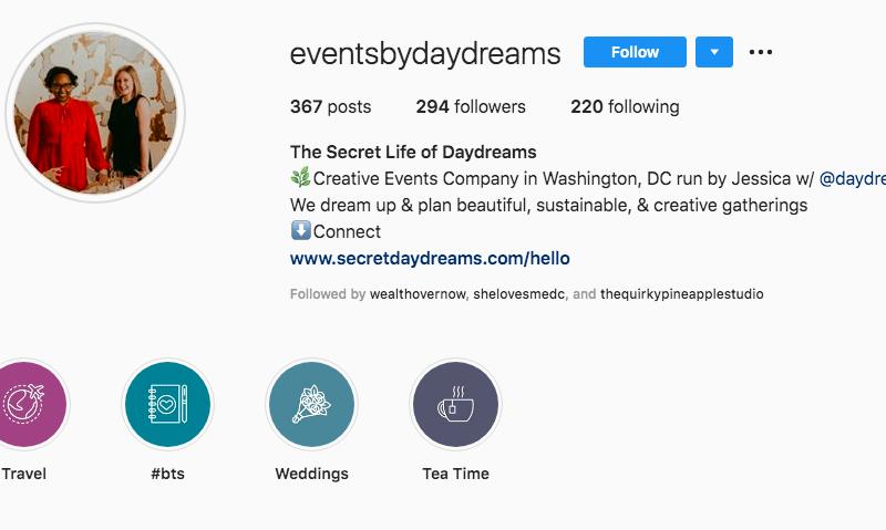 instagram optimization bio