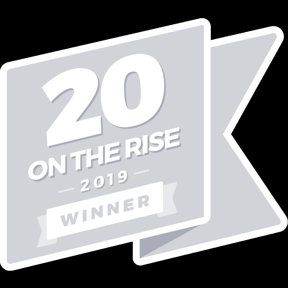 Rising Tide Society's 20 On the Rise 2019 Winner