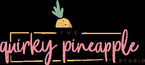 The Quirky Pineapple Studio Logo