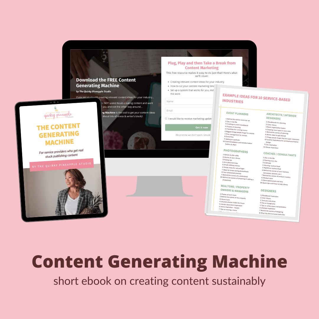 content marketing and strategy resource for small businesses